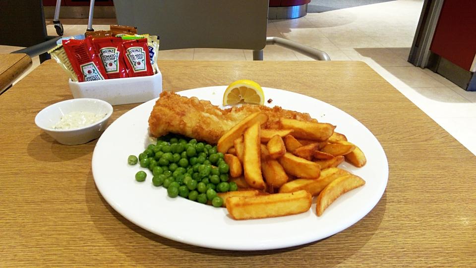 Sainsburys Fish & Chips