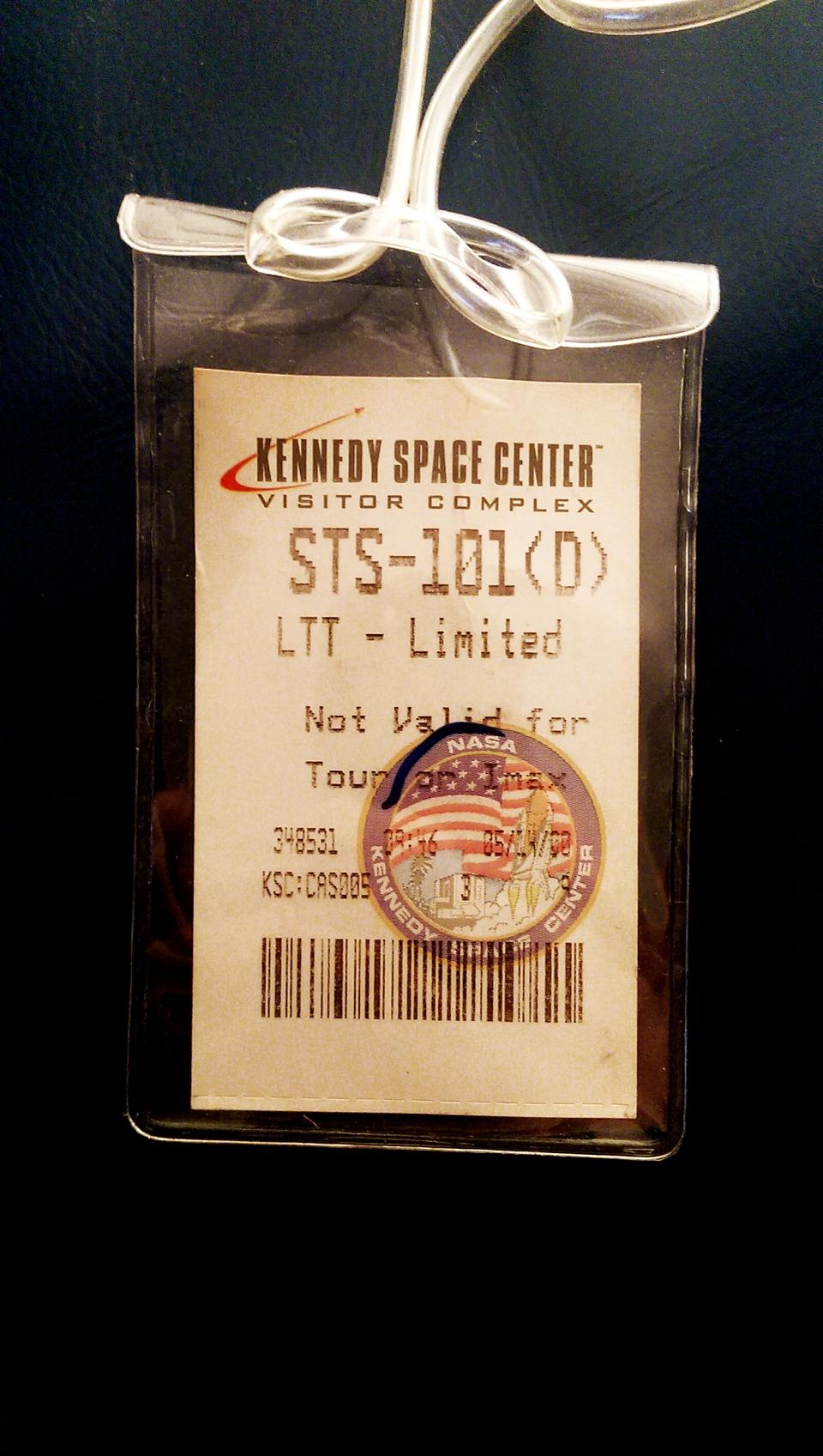 Shuttle Launch Ticket 1